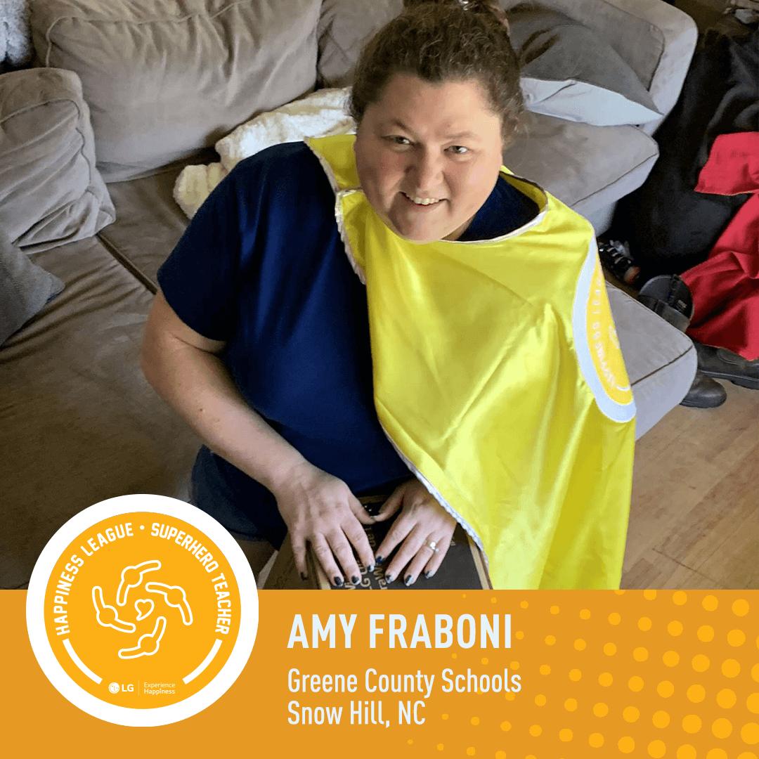 Amy Fraboni POSITIVE OUTLOOK