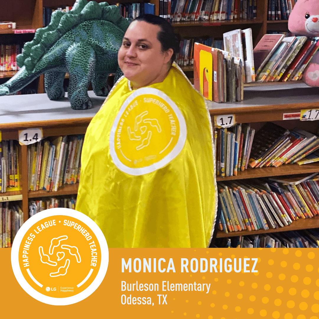Monica Rodriguez POSITIVE OUTLOOK